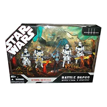 """Star Wars CLONE COMMANDER BLY 3.75/"""" Figure 327th Star Corps Betrayal on Felucia"""