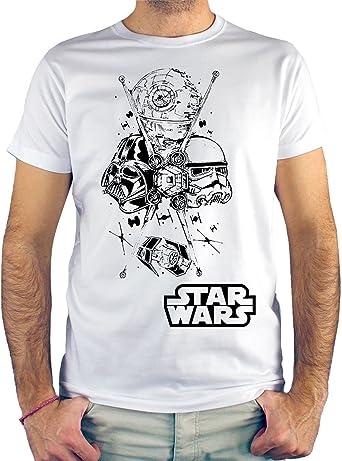 Camiseta Hombre - Unisex Star Wars: Amazon.es: Ropa y accesorios
