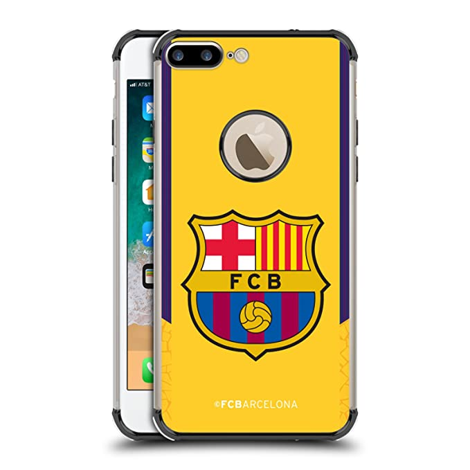 14794bacc Image Unavailable. Image not available for. Color  Official FC Barcelona  Goalkeeper Yellow 2017 18 Crest Kit Black ...
