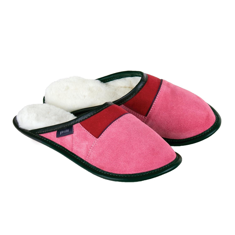 87c34150d1d Garneau Sheepskin Slippers - Women s Sheepskin and Suede Mule Slippers -  Casual Women s Shoes