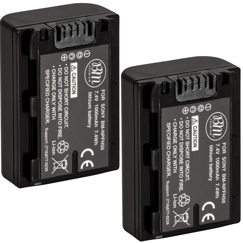 2 baterias para Sony Alpha DSLR-A230 DSLR-A290 DSLR-A390