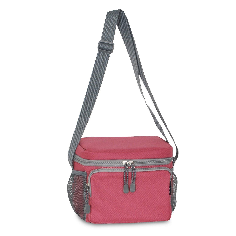 Everest Cooler Lunch Bag, Black, One Size CB6-BK