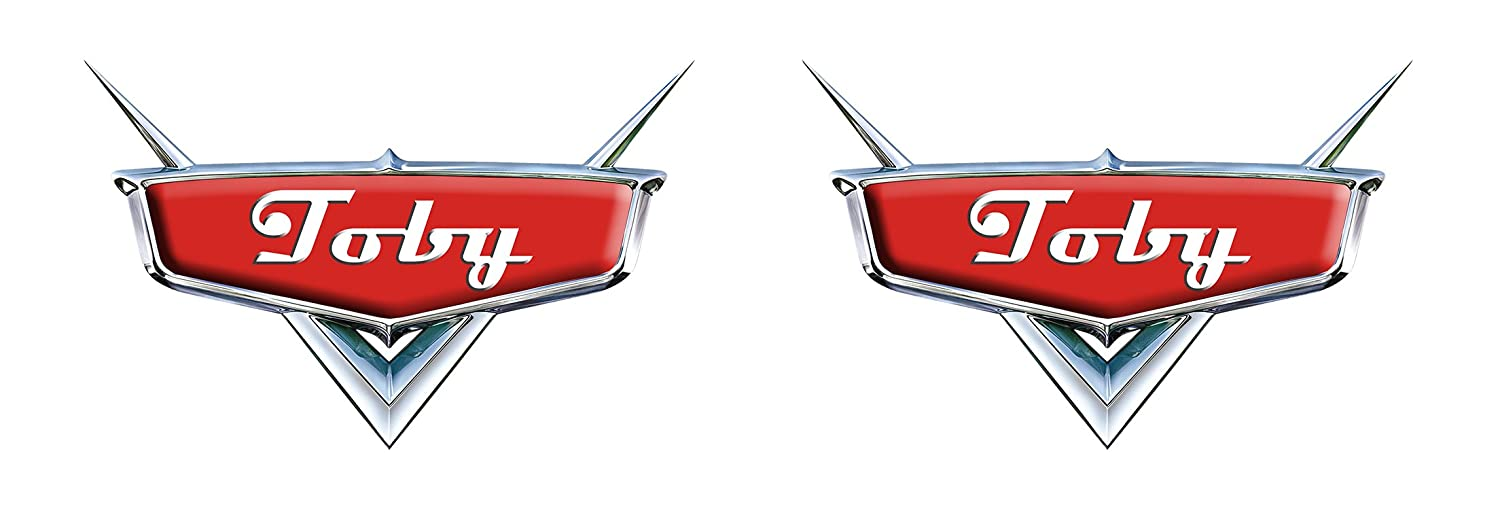 Disney Cars Personalised Cake Topper x2 (3