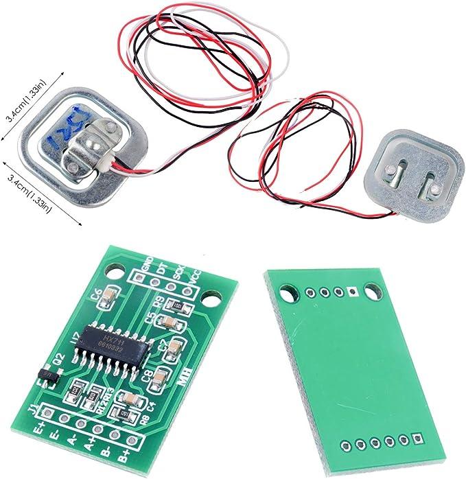 4pcs 50 Kg báscula Sensor de ponderación célula de carga de ...