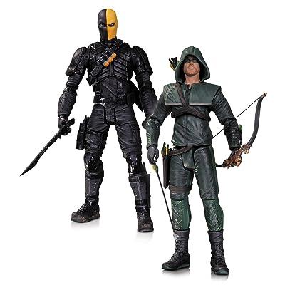 DC Comics Collector jouet–Arrow–Oliver Queen et Deathstroke 17,8cm Action Figure 2Playset