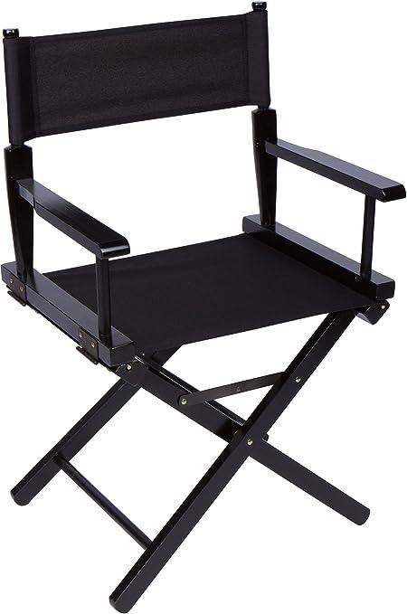 Genial 24u0026quot; Bar Height Directoru0027s Chair   Black Wood   By Trademark  Innovations ...