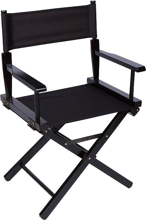 24u0026quot; Bar Height Directoru0027s Chair   Black Wood   By Trademark  Innovations ...