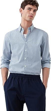 MANGO MAN - Camisa casual - para hombre azul azul marino X ...
