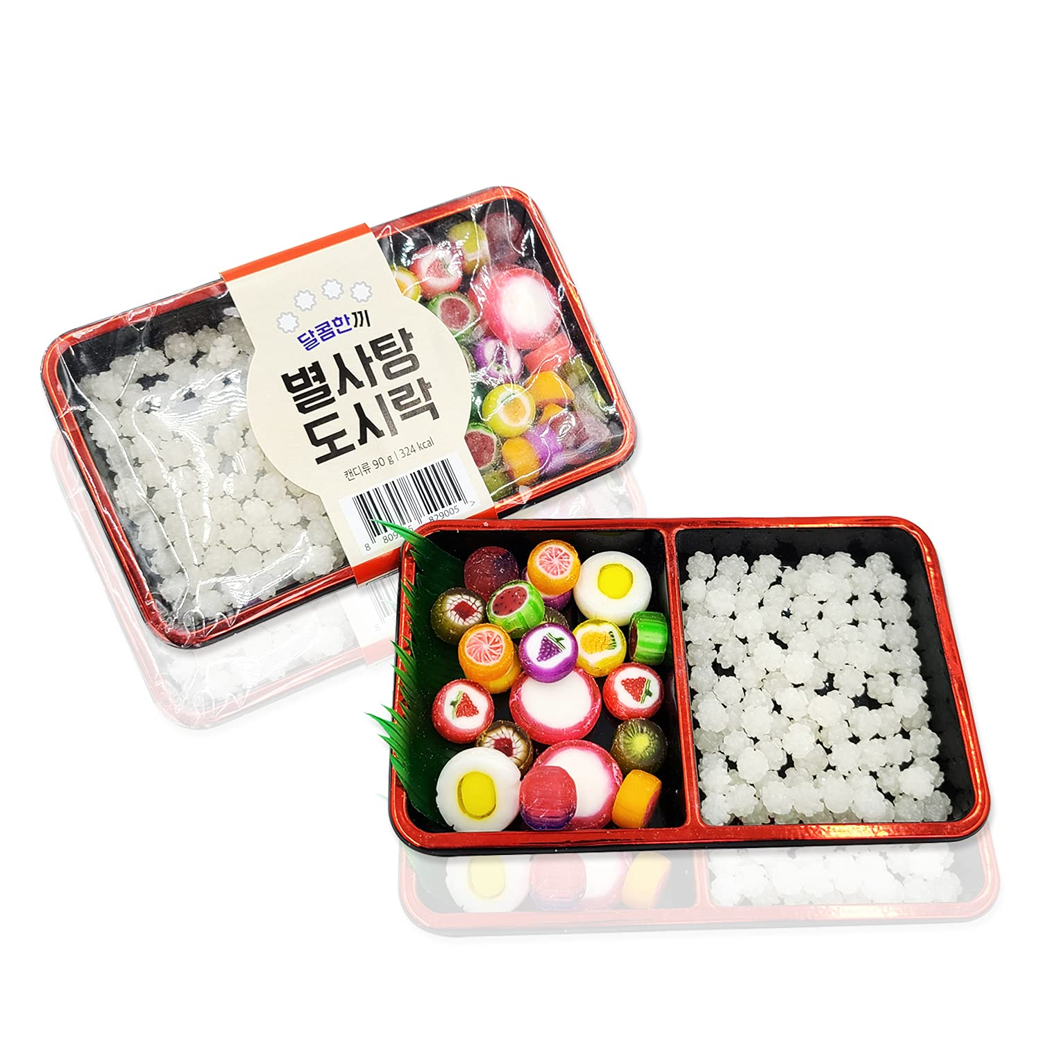 TREE FARM Star Candy Lunchbox 5-Set   Fun Size Candy Variety   Asian Candy Box   Sushi Candy   Weird Candy Food   Birthday Candy   Candy Sushi Tray   Unique Candy Gifts   Cool Candy   Tik Tok Candy