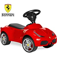 Best Choice Products 458 Ft Kids Ferrari Car Ride On Push Vehicle With Horn (Red)