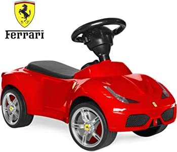 Best Choice Products 458 Ft Kids Ferrari Car Ride On Push Vehicle With Horn