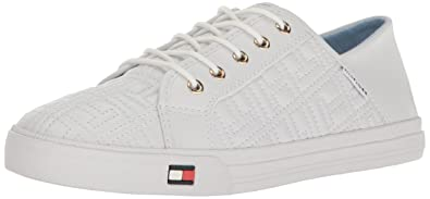 Womens Knitted Light Weight Lace up Low-Top Sneakers Tommy Hilfiger Classic Online New Styles 2018 New Online Cost Cheap Online POGdS