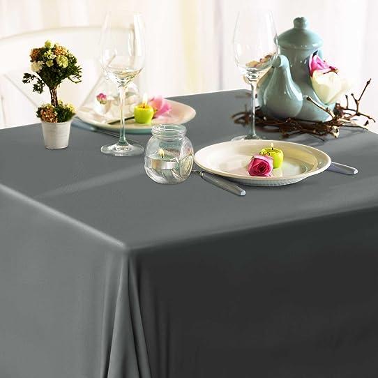 toile cire casa pura grise au mtre tailles au choix nappe dcorative pour - Toile Ciree Pour Table De Jardin