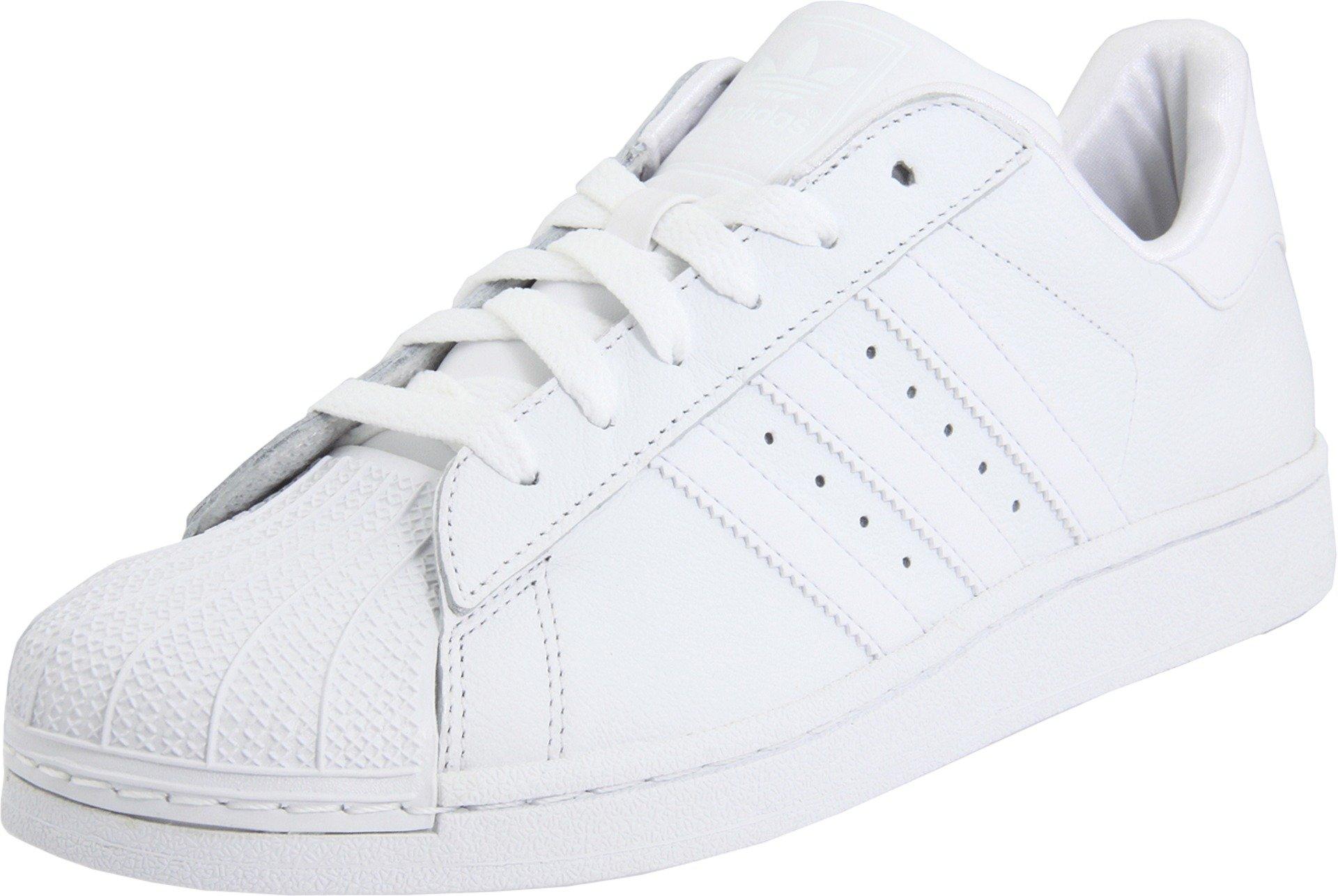 adidas Originals Superstar II Sneaker (Little Kid/Big Kid),White/White/White,7 M US Big Kid