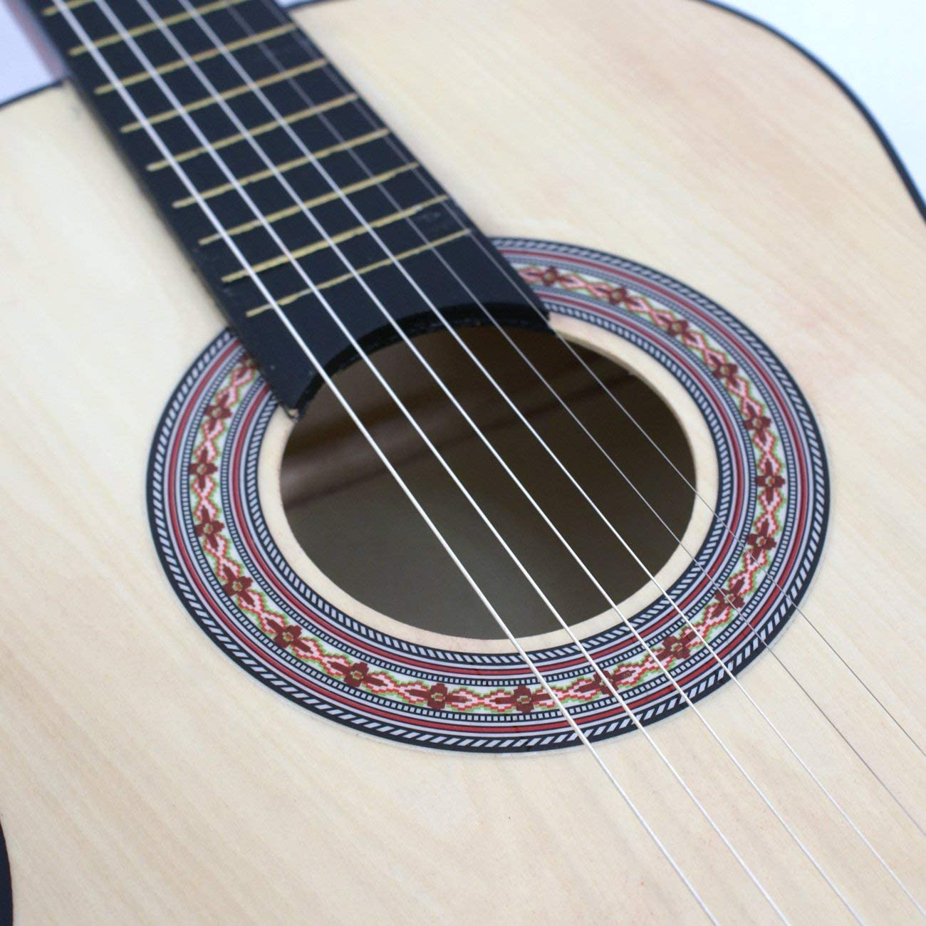 """Strings for Right-handed Child Kid Starter Wood Body Christmas Thanksgiving Gift Pick Pitch Pipe Oteymart Beginner Acoustic Guitar Kit 38/"""" with Case,Strap"""