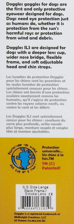 Doggles DODGILSM-15 ILS Small Lilac Flower Frame with Purple Lens Dog  Goggles DGILSM15 76c36df9f5