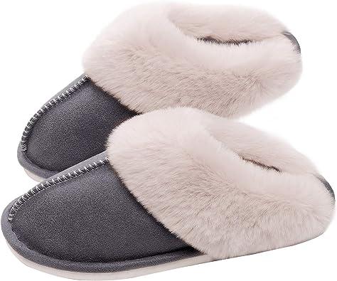 SOSUSHOE Womens Slippers Memory Foam