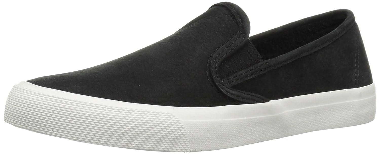 Sperry Top-Sider Women's Seaside Washable Leather Sneaker B078649G4K 5 B(M) US|Black