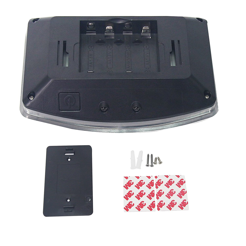 Motion Sensing Closet Beleuchtung, Wandleuchte, Luxus Aluminium ...
