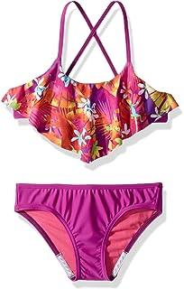 c0679ac6c4 Amazon.com : Speedo Girls Twirly Swirl Strappy Two Piece : Clothing