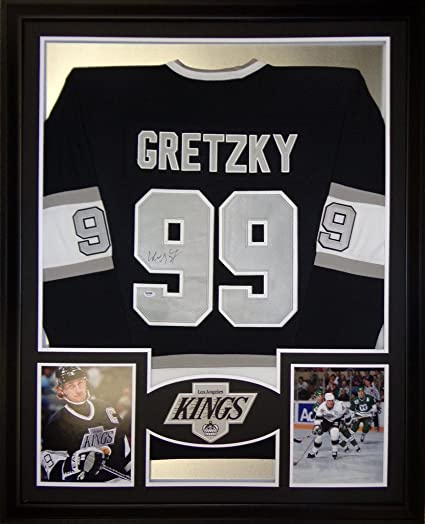 reputable site f8e36 d0d97 Wayne Gretzky Los Angeles Kings Autograph Signed Custom ...