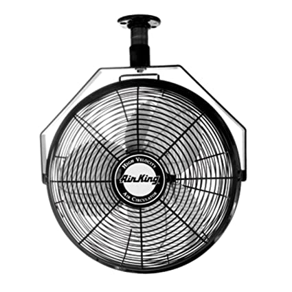 Amazon Com Air King 9718 18 Inch Industrial Grade Ceiling Mount Fan