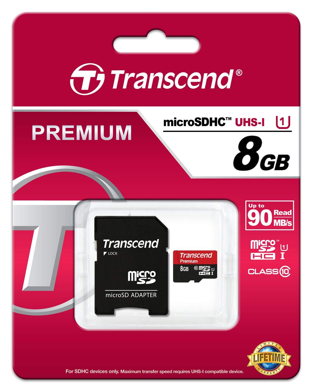 Tarjeta microSD de 128 GB A1 SDXC hasta 95 MB//s lectura, con adaptador SD Clase 10 U1 V30 Transcend USD300S