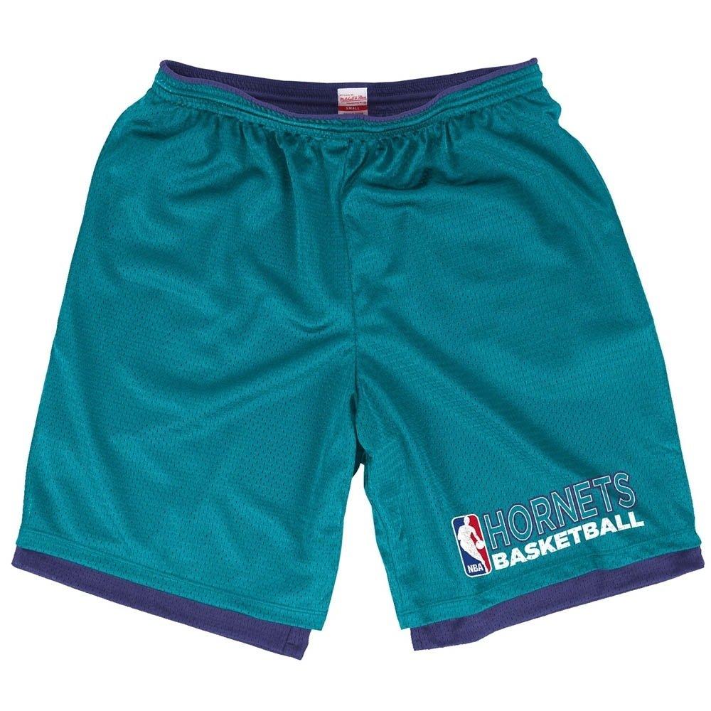 Mitchell & Ness - Camiseta de los Charlotte Hornets baloncesto de la NBA de malla Reversible Pantalones cortos: Amazon.es: Deportes y aire libre