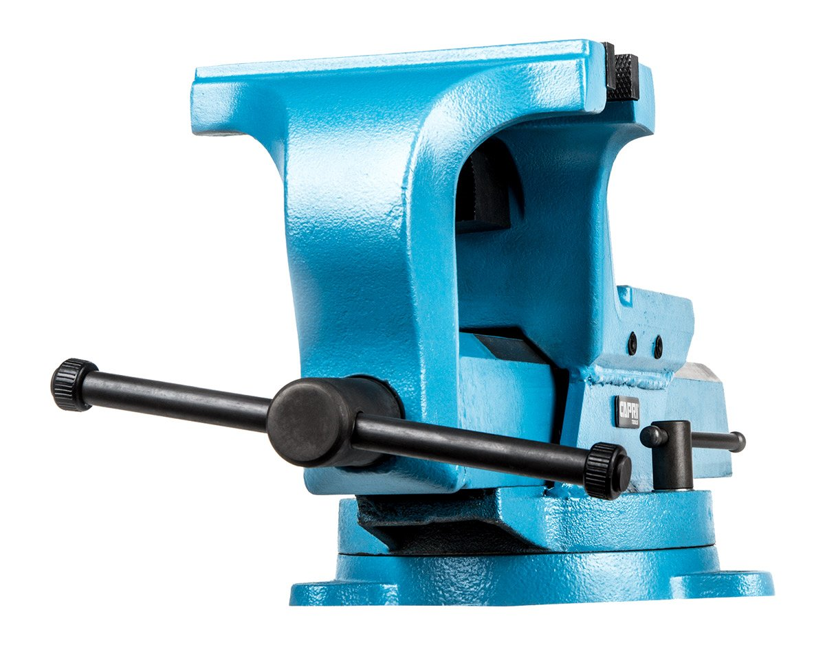 Capri Tools 10516 Ultimate Grip Forged Steel Bench Vise, 6''