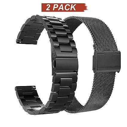 Amazon.com: Acestar - Juego de 2 pulseras de repuesto para ...