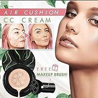 Cogumelo Head Air Cushion CC Cream BB Cream hidratante corretivo, hidratante fosco uniforme, base de maquiagem com…