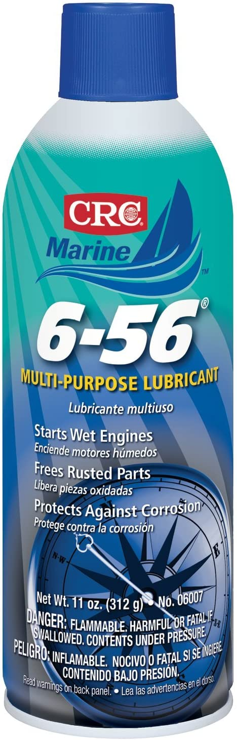 CRC Industries 06007 6-56 Multi-Purpose Marine Lubricant - 11oz.