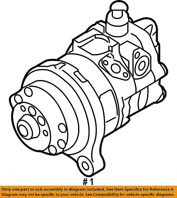 Amazon Com Bmw 32 41 6 796 455 Power Steering Pump Automotive