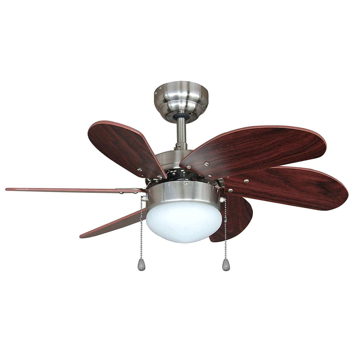 Hardware house h10 4852 monterey 30 inch dual mount ceiling fan hardware house h10 4852 monterey 30 inch dual mount ceiling fan beach wood and satin nickel amazon aloadofball Choice Image