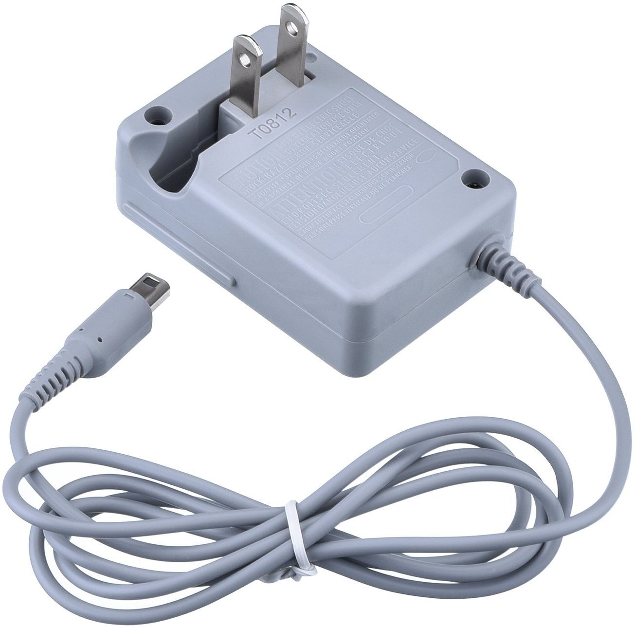 StyleZ AC Adapter Charger Home Travel Charger Wall Plug Power Adapter (100-240 v) for Nintendo 3DS/ 3DSXL/ DSI/DSIXL