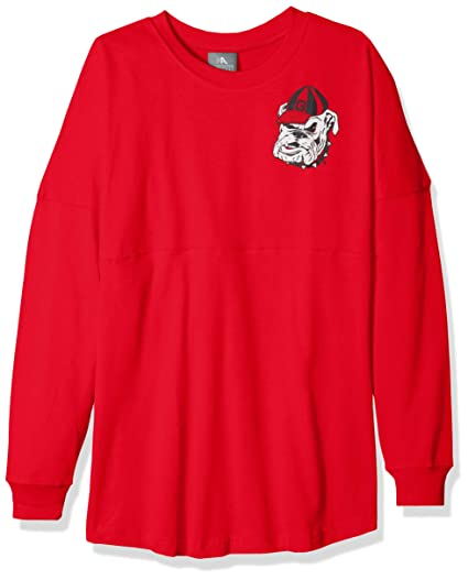 NCAA Georgia Bulldogs Womens NCAA Women s Long Sleeve Mascot Style  Teeknights Apparel NCAA Women s Long Sleeve 43010c0ac9