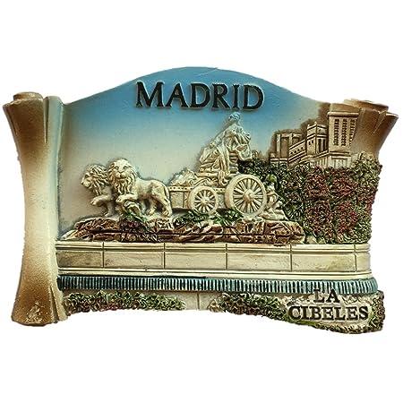 Imán para nevera, diseño de Madrid España Europa, resina 3D, ideal ...