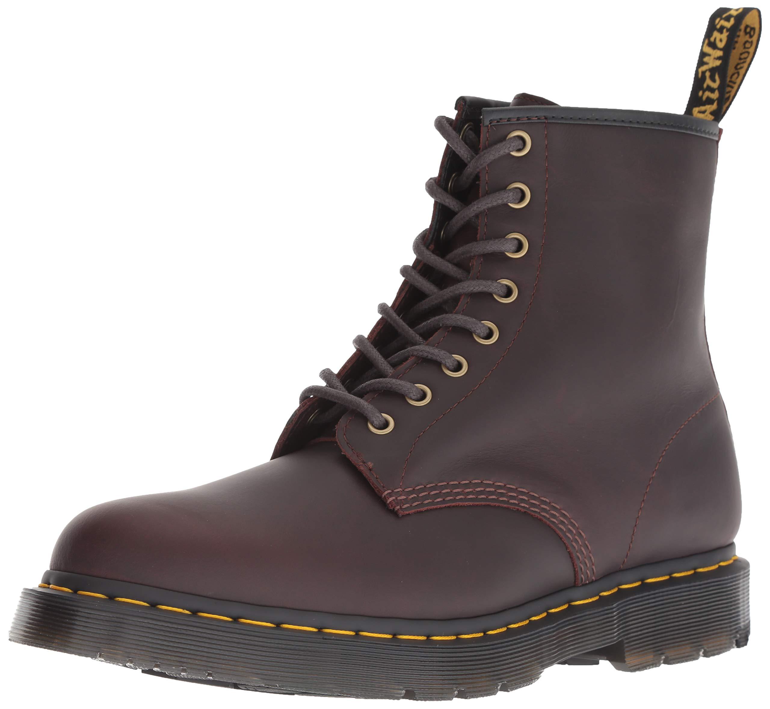 Dr. Martens Men's 1460 Snow Boot, Cocoa, 9 Medium UK (10 US) by Dr. Martens