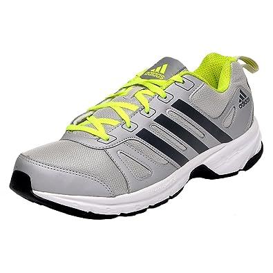3e7d51948 Adidas Men's Adi Primo 1.0 M Grey and Green Mesh Running Shoes - 11 UK