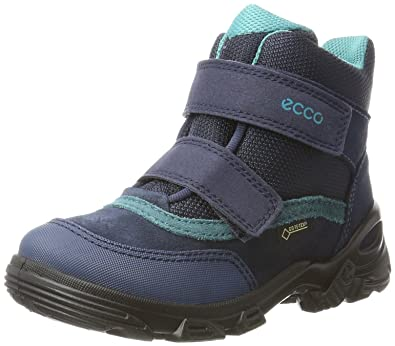 c62fb3a1fe Ecco Jungen Snowboarder Stiefel, Blau (Denim Blue/Marine), 27 EU