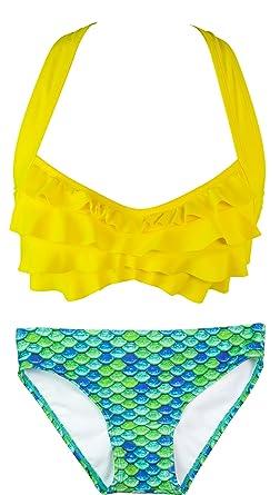 b0245156ba Fin Fun Mermaid Womens Sea Wave Bikini Set