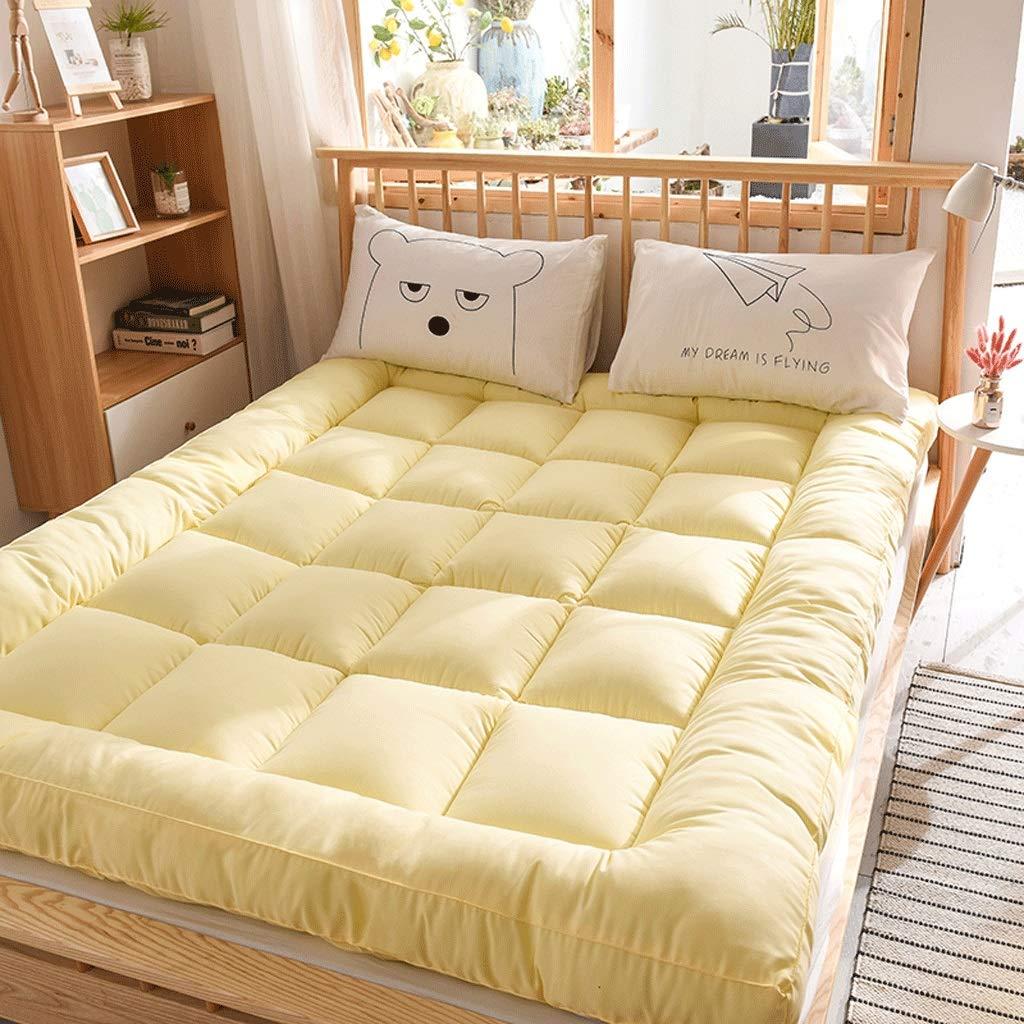 De estilo japonés de suelo Colchón Colchón de cama, engrosamiento ...