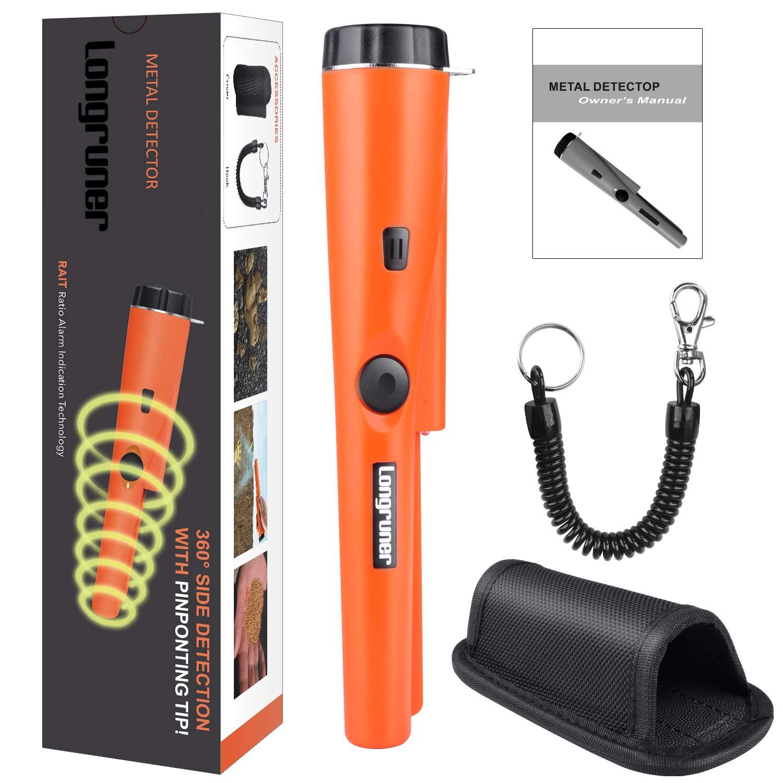 Detector de metales longruner gp-pointer Pin sonda de puntero impermeable Handheld PinPointer con funda tesoro caza accesorios de herramientas unearthing ...