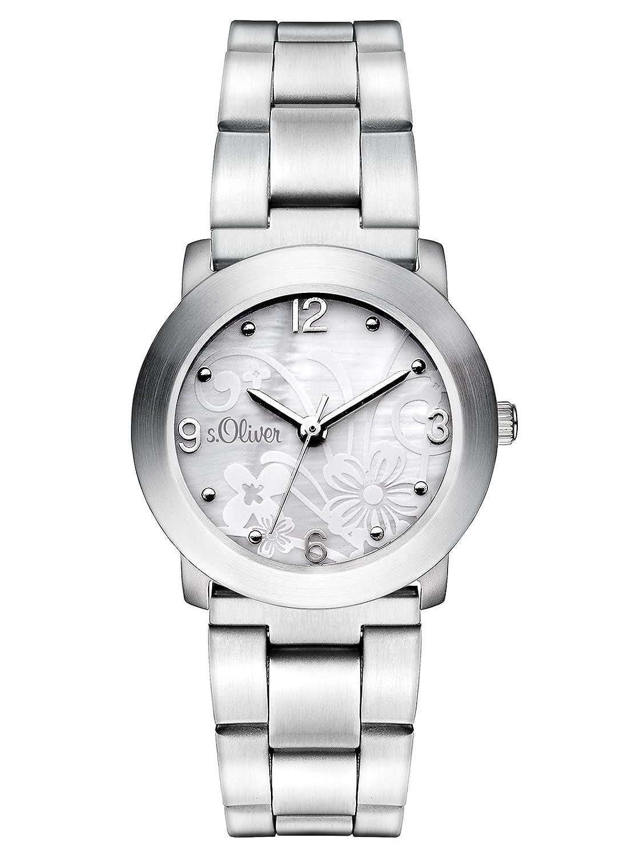 Armbanduhr zeichnung  s.Oliver Damen-Armbanduhr Analog Quarz SO-2857-MQ: Amazon.de: Uhren