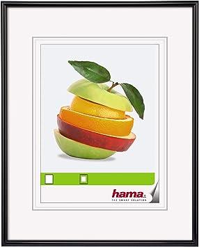 Cadre photo portrait cadre Valence argent 10x15 13x18 20x30 40x50 cm Hama