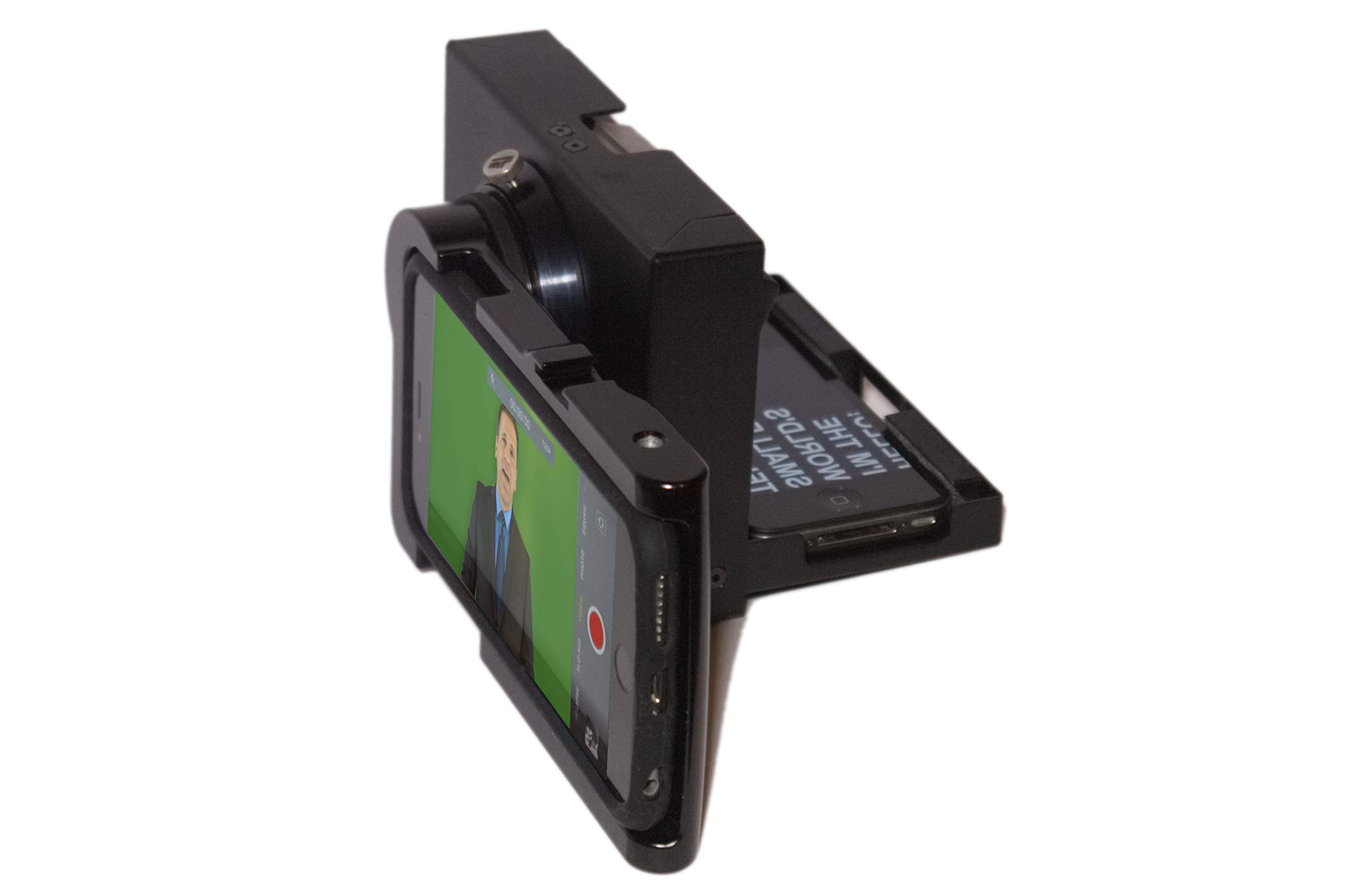 MicroPrompter - World's Smallest Professional Portable Teleprompter for Recording Videos on Your Smartphone, Camcorder or Small DSLR by MicroPrompter (Image #3)