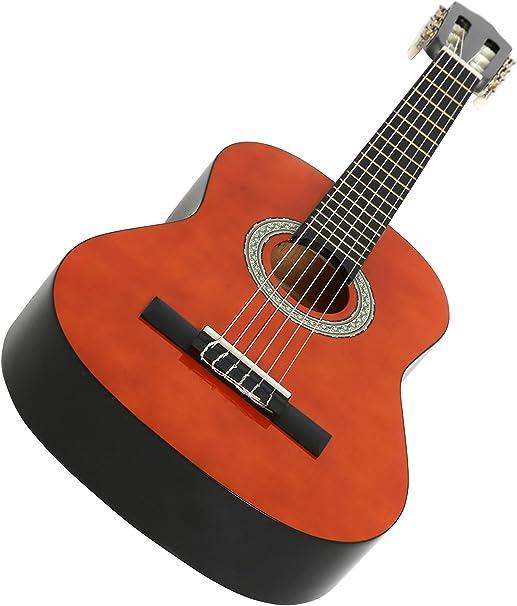 Navarra NV13 - Guitarra clásica, Miel, 3/4: Amazon.es ...