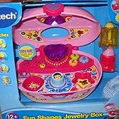 Amazoncom VTech Fun Shapes Jewelry Box Pink Toys Games