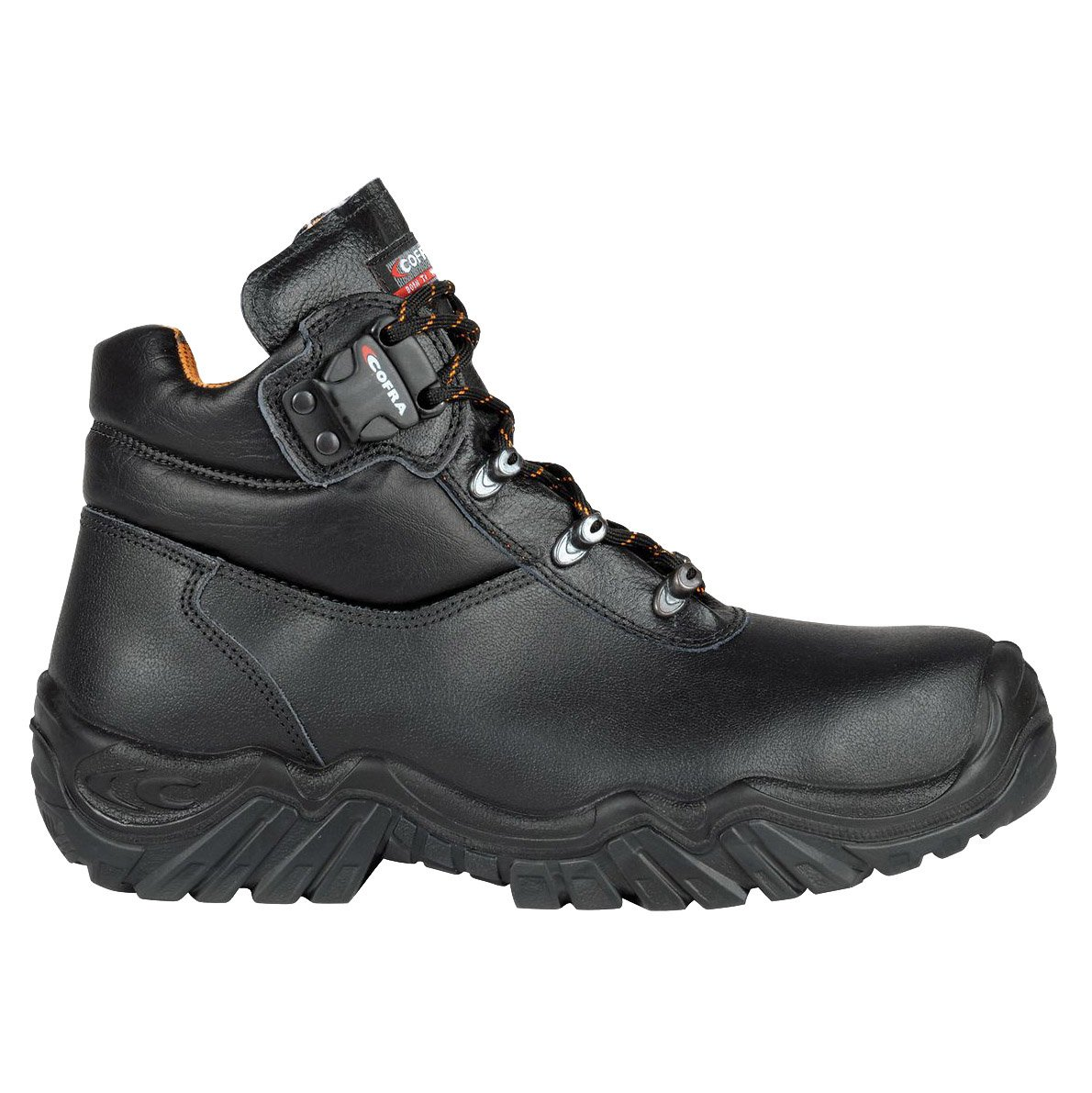 Cofra 80470– 000.w46 Gr. 46 S3 Hi CI HRO SRC'K2' Sicherheit Schuhe –  Schwarz 80470-000.W46