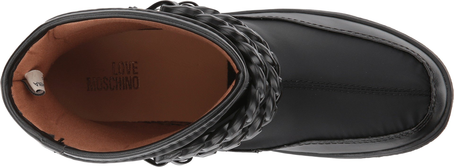 LOVE Moschino Women's Chain Winter Boot Black/Black Boot by Love Moschino (Image #2)